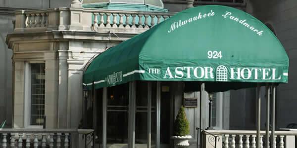 Astor Hotel Entrance